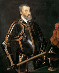 anonymous: Emperor Charles V in armor