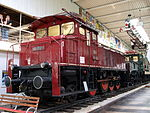 Electric locomotive E60 Bugeleisen (german for 'pressing iron') p2.JPG