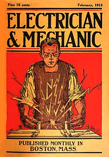 <i>Electrician and Mechanic</i>