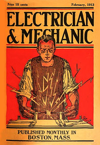 Electrician and Mechanic -  Electrician and Mechanic February 1913