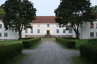 Elingård building in Fredrikstad, Eastern Norway
