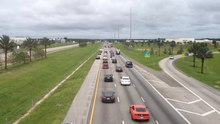 File:Emergency Shoulder Use Eastbound Interstate 4 Before Hurricane Irma.webm