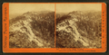 Emigrant Gap Ridge, 84 miles, Old Man Mountain, Red Mountain, Castle Peak in distance, by Watkins, Carleton E., 1829-1916 2.png
