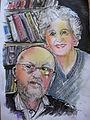 Emil Biela z żoną.jpg