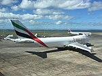Emirates SkyCargo 747F OO-THD at AKL (33811673561).jpg