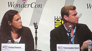 Inception - Emma Thomas and Christopher Nolan answer questions about Inception. The husband and wife team produced the film through their company Syncopy Films. Nolan also wrote and directed it.