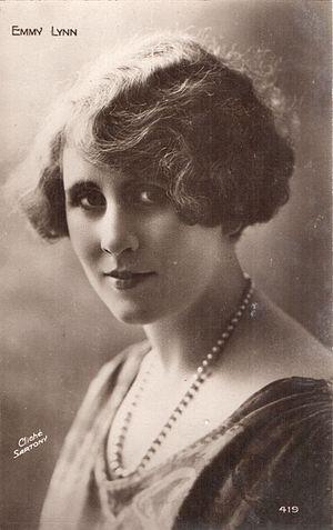 Emmy Lynn - Postcard of Emmy Lynn, 1920