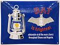 Enamel advertising sign, BAT is brightest, 158, Ghana and Nigeria.JPG