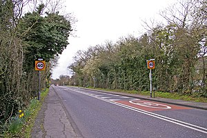 A110 road (England) - Image: Enfield Road, Enfield, looking west geograph.org.uk 731983