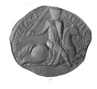Enguerrand III, Lord of Coucy - Seal of Enguerrand III of Coucy.