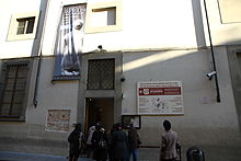 Entrance of Galleria dell'Accademia.JPG