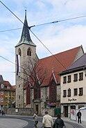 Erfurt Lorenzkirche vom Anger