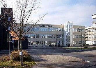 Konstfack - Konstfack at Telefonplan, Stockholm, in 2010.