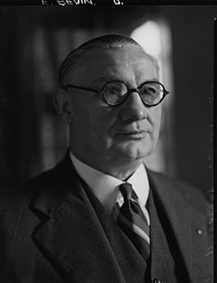Ernest Bevin British labour leader, politician, and statesman