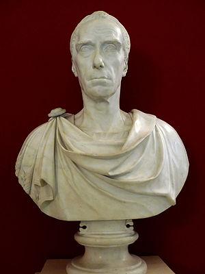 Ernst Gideon von Laudon - Marble bust by Giuseppe Ceracchi