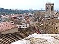 Església parroquial de la Santa Creu, vista des de el castell.jpg