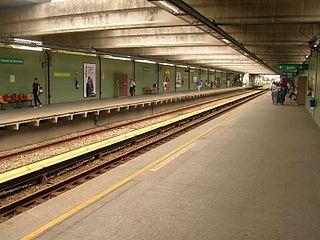 Vicente de Carvalho Station metro station in Rio de Janeiro, Brazil