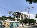 Estación Cuatro Mosqueteros en construcción, Guayaquil, Ecuador, Diciembre 2019.jpg