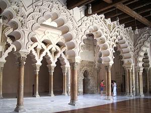 Aljafería - Interior view.