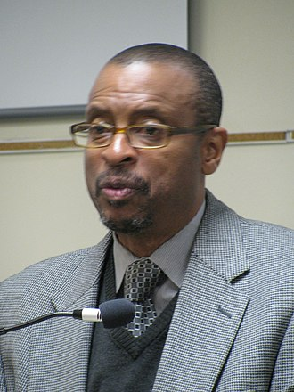 E. Ethelbert Miller - at the 2013 Fall for the Book