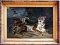 Eugène delacroix, giovane tigre che gioca con sua madre, studio, 1830.jpg