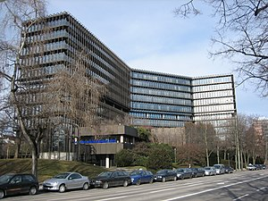 European Patent Office - EPO headquarters in Munich, Germany