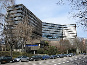 European Patent Office - EPO headquarters in Munich, Germany