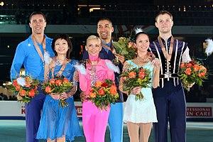 Vera Bazarova - Bazarova/Larionov at the 2011 European Championships