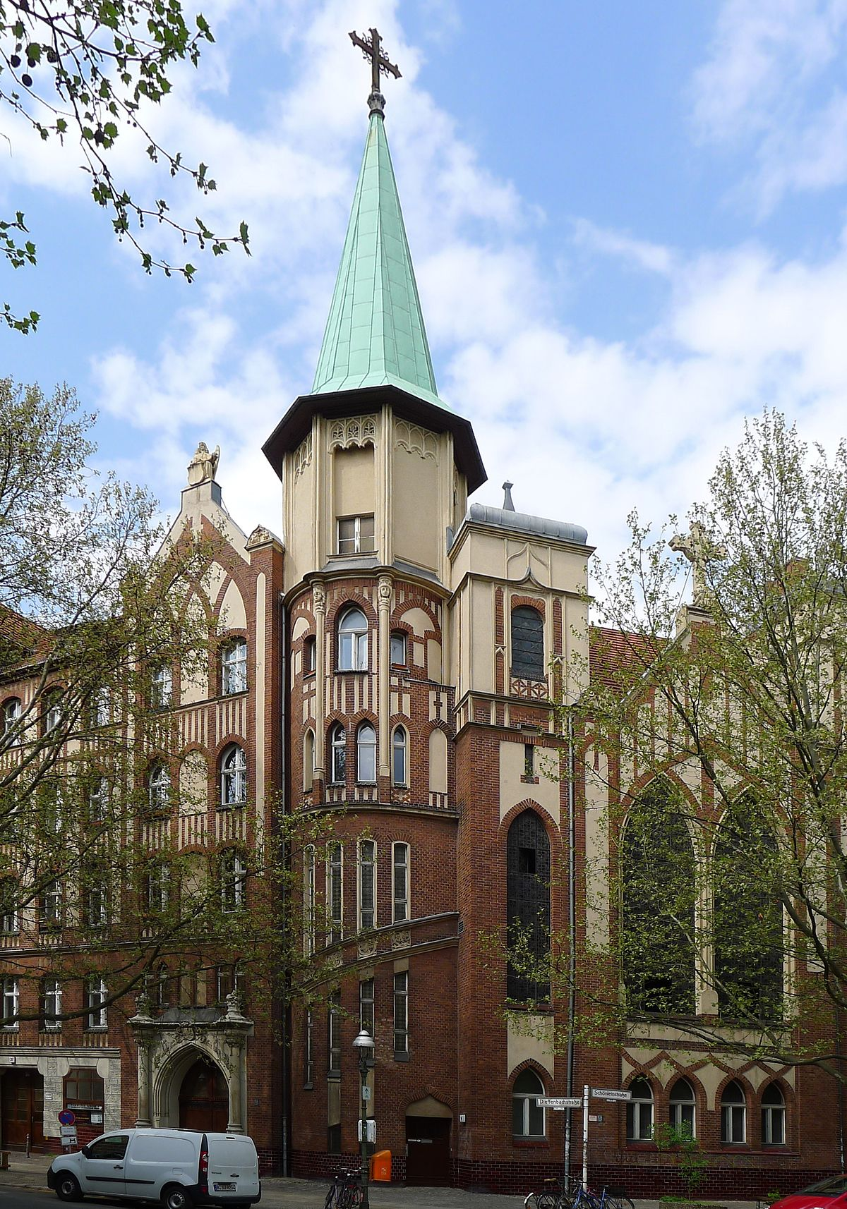 evangelisch methodistische christus kirche berlin kreuzberg wikipedia. Black Bedroom Furniture Sets. Home Design Ideas
