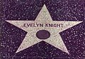Evelyn Knight's star on the Hollywood Walk of Fame.jpg