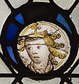 Exeter Cathedral, Stained glass window detail (36232965634).jpg