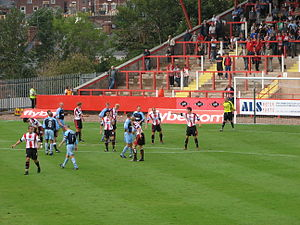 Altrincham F.C. - Exeter City vs Altrincham, in a Conference National fixture played on 19 August 2006
