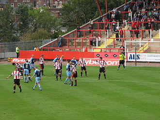 Exeter City F.C. - Exeter City vs Altrincham, a Conference National fixture played on 19 August 2006.
