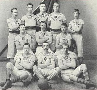 Örgryte IS - Örgryte IS team of year 1896, that won the first Swedish championship final.
