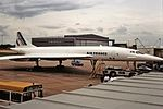 F-BVFA Concorde Air france Manchester 27-08-90 (33794664676).jpg