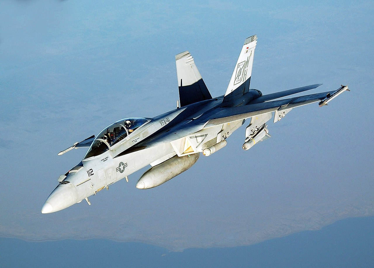 US Navy and Naval Aircraft: News - Page 3 1280px-FA-18_Hornet_VFA-41