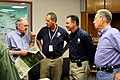FEMA - 35648 - FEMA Administrator Paulison with FEMA and local officials in Iowa.jpg