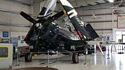 FG-1D Corsair at Olympic Flight Museum left view.jpg