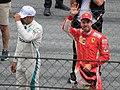 FIA F1 Austria 2018 Vettel after Qualifying.jpg
