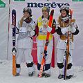 FIS Moguls World Cup 2015 Finals - Megève - 20150315 - Justine Dufour-Lapointe, Hannah Kearney et Chloé Dufour-Lapointe 4.jpg