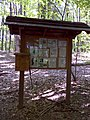 FLT M17 1.5 mi - Kiosk and register in Sweedler FLLT Preserve near Townline Rd - panoramio.jpg
