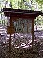 FLT M17 1.5 mi - Kiosk and register in Sweedler FLLT Preserve near Townline Rd - panoramio.jpg