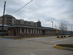 Franklin Park, Illinois - Franklin Park Metra station for the Milwaukee District Line