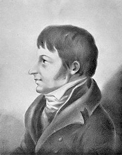 Franz Mikael Franzén Fredrika Bremerin maalauksessa