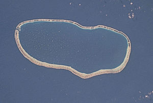 Faaite - NASA picture of Faaite Atoll