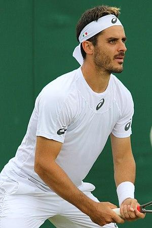 Thomas Fabbiano - Fabbiano at the 2017 Wimbledon Championships