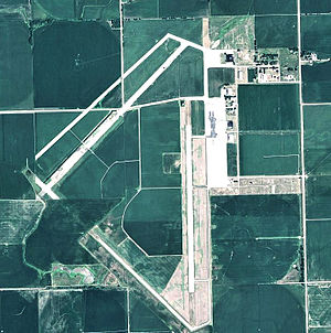 Fairmont State Airfield - USGS 2006 orthophoto