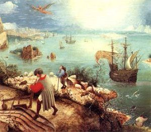 Museum David and Alice van Buuren - Image: Fall of Icarus Brueghel Museum van Buuren