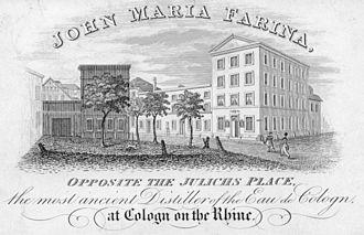 Johann Maria Farina gegenüber dem Jülichs-Platz - Farina House