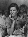 Farm Security Administration, Destitute pea pickers in California. Mother of seven children - NARA - 196261.tif